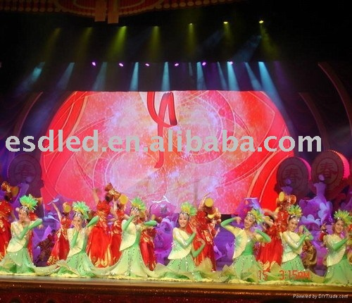 P20 LED display/LED curtain/Stage background LED video wall(new product)