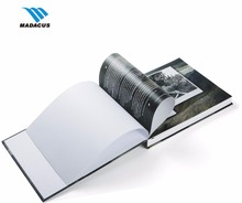 luxury OEM printing thick hardcover photography and photographic book