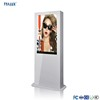 Chrome Approval Android Lcd 2000 Nits advertising Airport 49 inch Outdoor kiosk Digital Signage