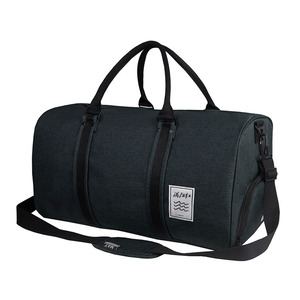 Waxed canvas travel shoe bag outdoor soft overnight duffel bag