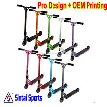Professional Street Pro Stunt Scooter S4 ultra pro scooter pedal adult,dual pedal scooter,child scooter
