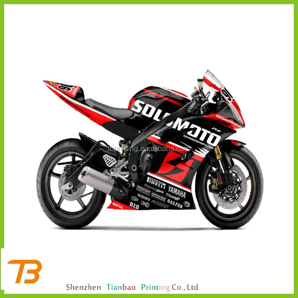 Manufacturer Custom Motorcycle Sticker Manufacturer Custom - Custom motorcycle stickers racing