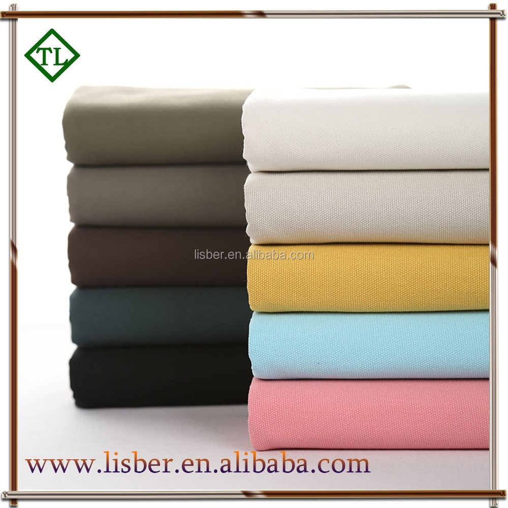 tc 65/35 poly cotton canvas fabric with top quality for tent
