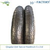 3.00-8Pneumatic inflatable rubber wheel with metal rim