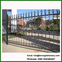 China Commercial Ornamental Metal Fence Panel