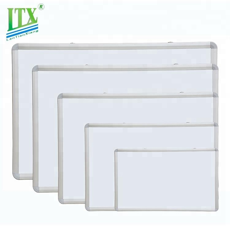 Different standard size office writing magnetic white board,dry erase white board