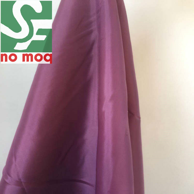 China Supplier Best Price 100% Poly Pongee Woven Antistatic Fabric for Lady's Garments