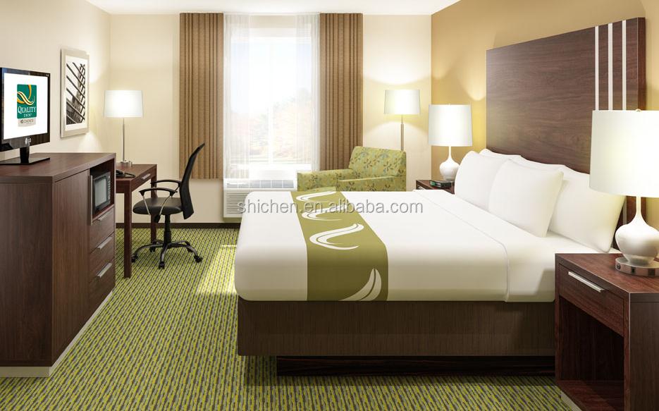 Haute qualité pas cher commercial chambre d hôtel meubles de lit