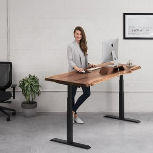 2018 hot-selling smart office computer lift table electric adjustable height desk base