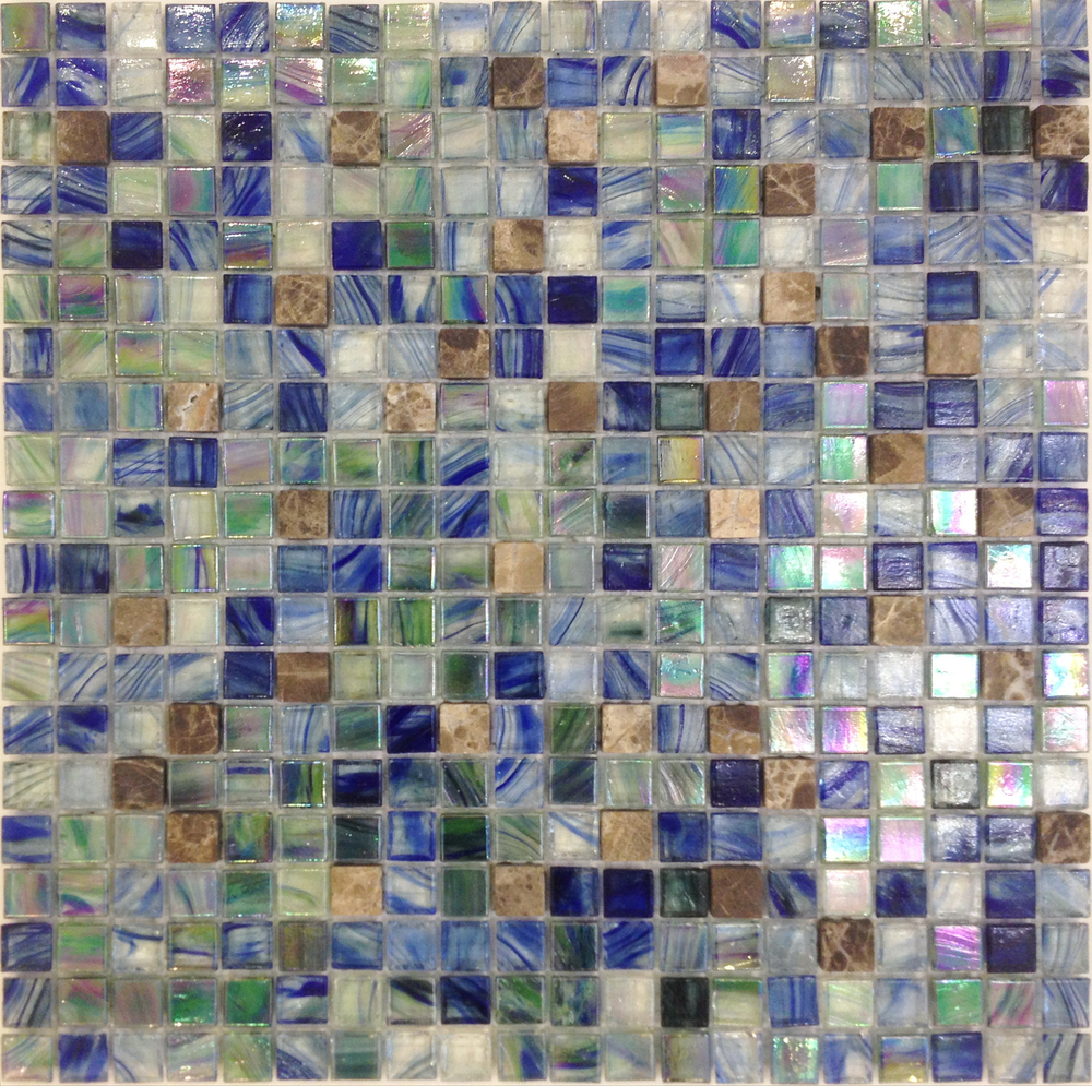 Whole Sale Decorative Mosaic Tiles Glass With Marble Living Rom ...