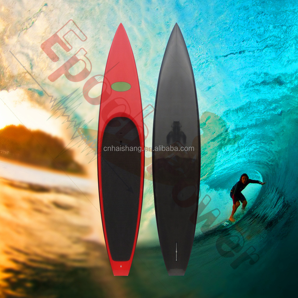 Race Carbon SUP Paddle Board Bamboo Carbon Surfboard High Quality Stand Up Paddle Boards