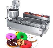 Stainless steel manual donut machines/gas(electric) automatic mini donut machine/snack food processing machine