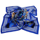 China Factory Wholesale High Quality Silk Printed Square Scarf Women Neckwear