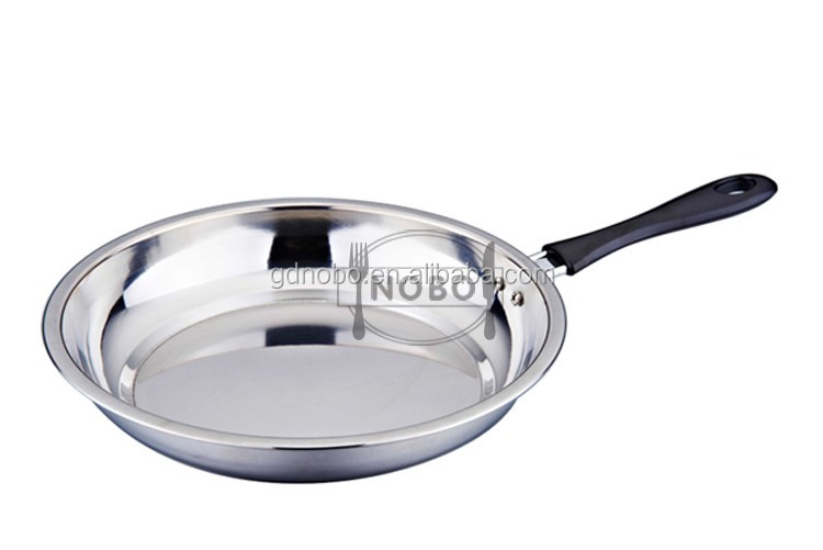 Divided Frying Pan Stainless Steel Egg Fry Pan Non Stick