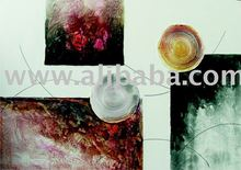Textured Abstract, acrylic painting, on canvas, handmade , 70x100cm (28x40inc), exclusive brazilian art, Available in various