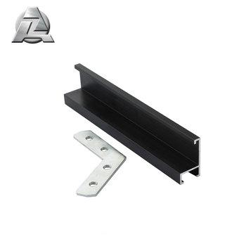 Black Aluminum Sectional Picture Frames Mouldings Profile 1013 - Buy ...