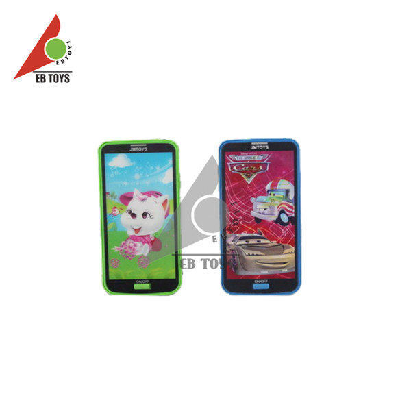 2015 hot sale lovely 16 models of mobile design plastic baby phone toy