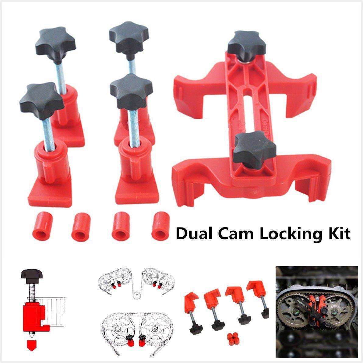 Universal 5Pcs Cam Camshaft Lock Holder Car Engine Cam Timing Locking Tool Set