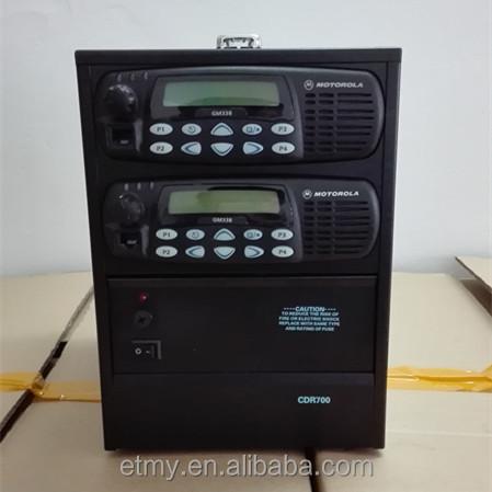 Motorola Mobile 2-way Walkie Talkie Base Station Cdr700