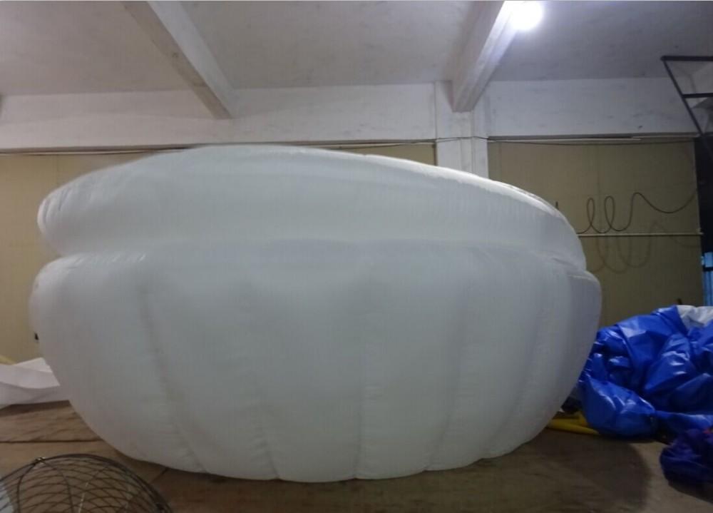 Aeor Neue Produkt Aufblasbare Muschel Gartenmöbel/aufblasbare Outdoor Sofa  Bett Verwendet Kommerziellen
