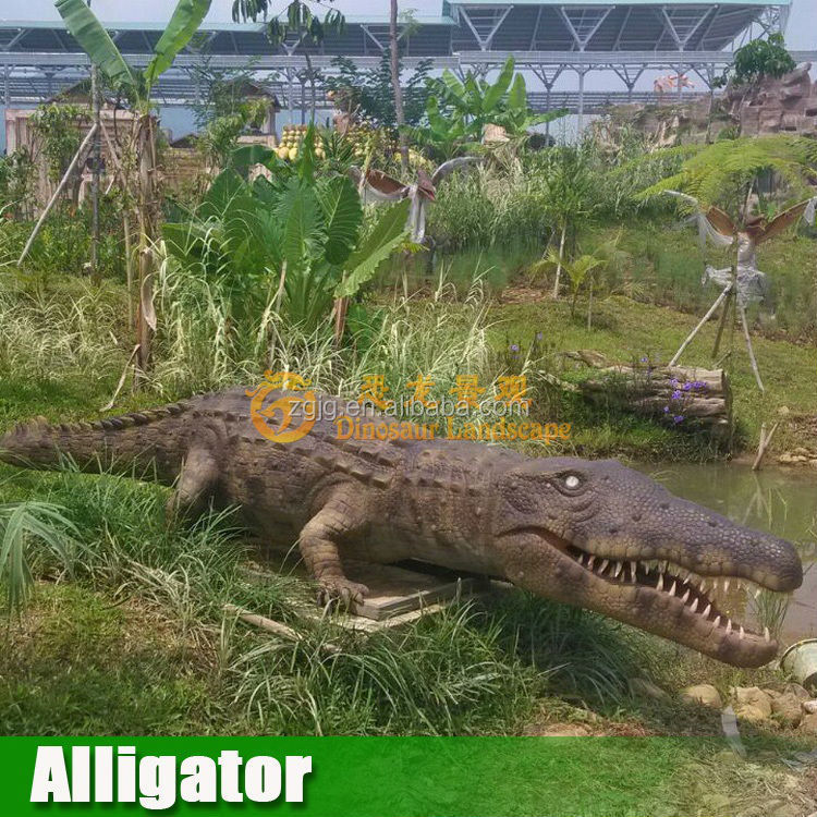 Animatronic animal Life size Alligator