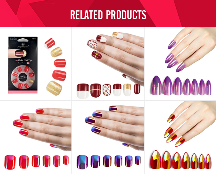 Fengshangmei Eco-friendly Abs Artificial Fake Nails Full Cover ...