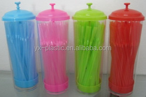 China factory supply plastic straw dispenser for bar