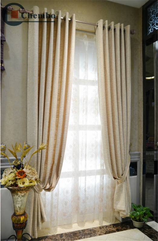 Hot sale hotel blackout fireproof curtains fabric with for Hotel drapes for sale