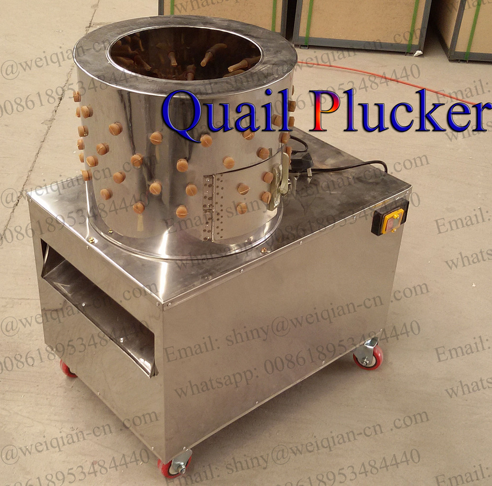 High quality WQ-40 automatic poultry feather plucker machinery