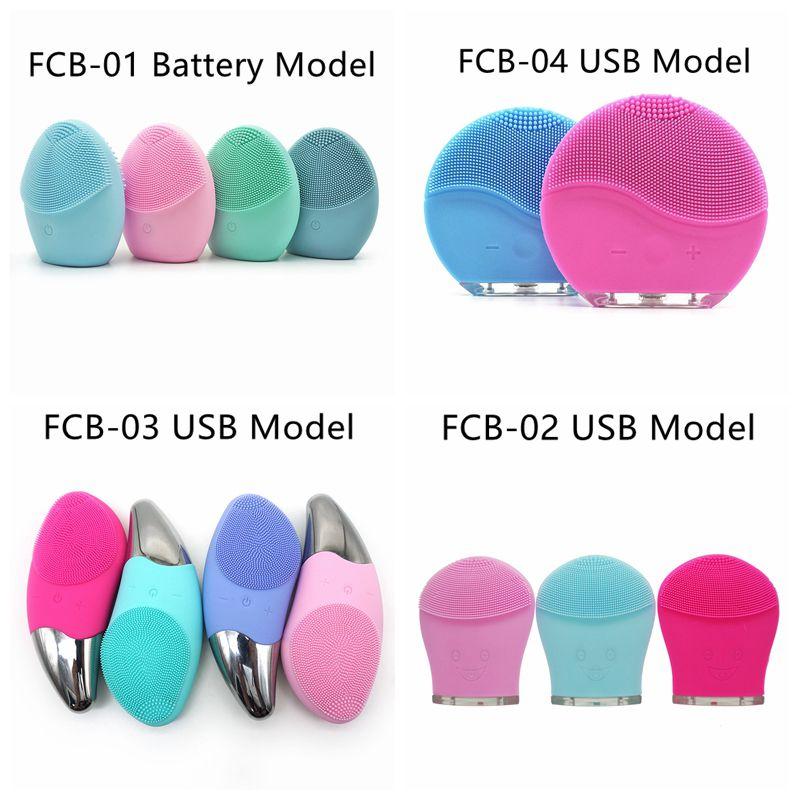 2019 USB Lade Gesichts Elektrische Reiniger Wasserdicht Gesicht Reinigung Pinsel