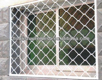 Window Protection Chain Link Fence Diamond Wire Mesh Buy
