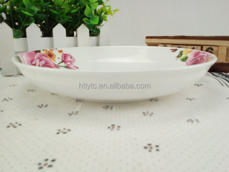 Made in liling China Hot sale ceramic 3 in 1 plate