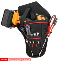 600D Polyester Electric Tool Pouch Bag Drill Holster
