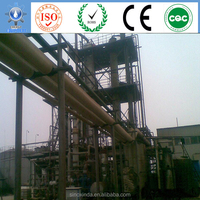 China energy alternative research project waste vegetable oil distillation for diesel