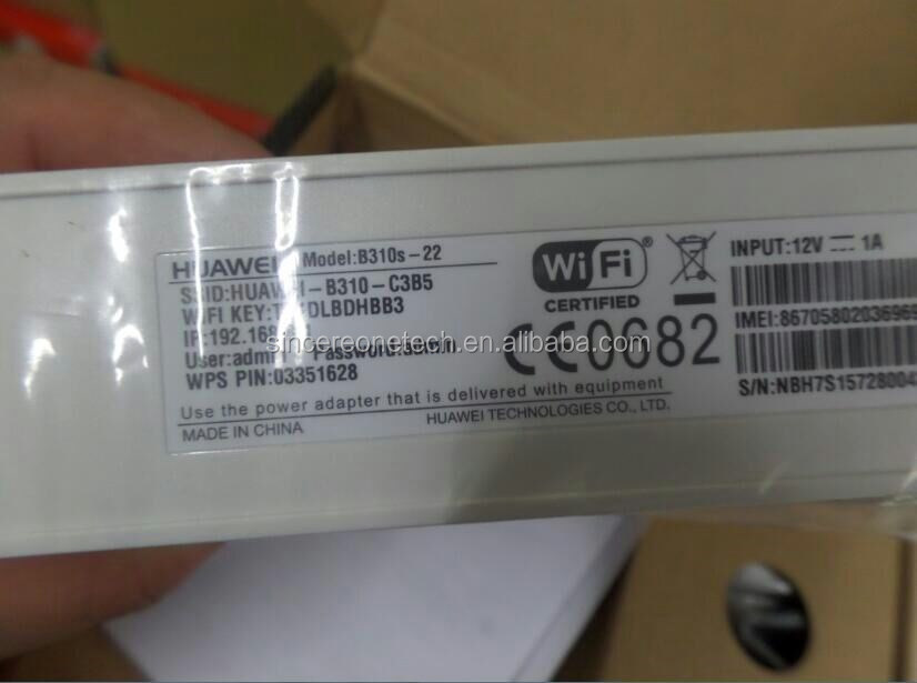 Huawei B310s-22 4g Lte Cpe Wireless Router - Buy B310,B310s-22,Huawei Cpe  Product on Alibaba com