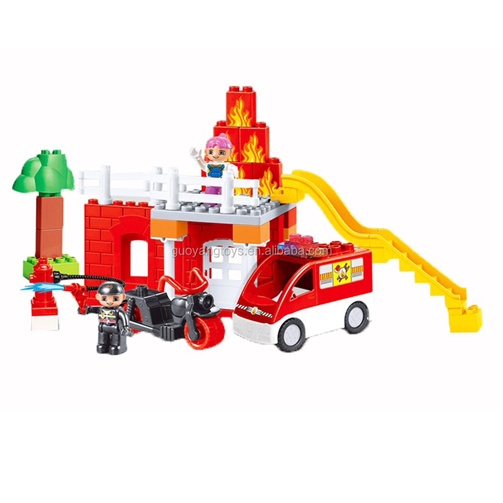 Great legos fire series building blocks educational toys diy toys plastic building blocks toys