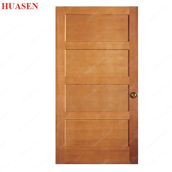 good quality 4 panel solid wood interior doors