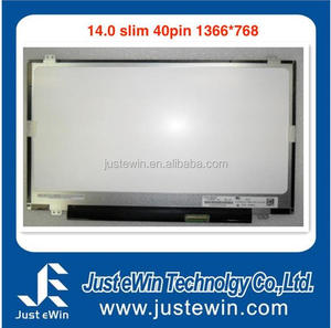 "14.0 inches Slim 40 pins 1366*768 TFT LCD lcd laptop up down ears 14.0"" new laptop panel N140BGE-LB1"