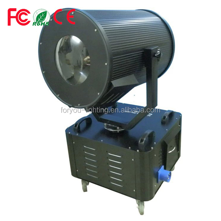 Branded exported outdoor 1.5/5kw sky rose search lights