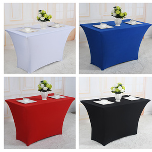 Very hot selling rectangle table cloth for bar and restaurant