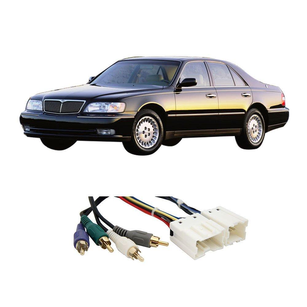 Fits Infiniti Q45 1997-2001 (Premium Sound) Factory - Aftermarket Radio Harness