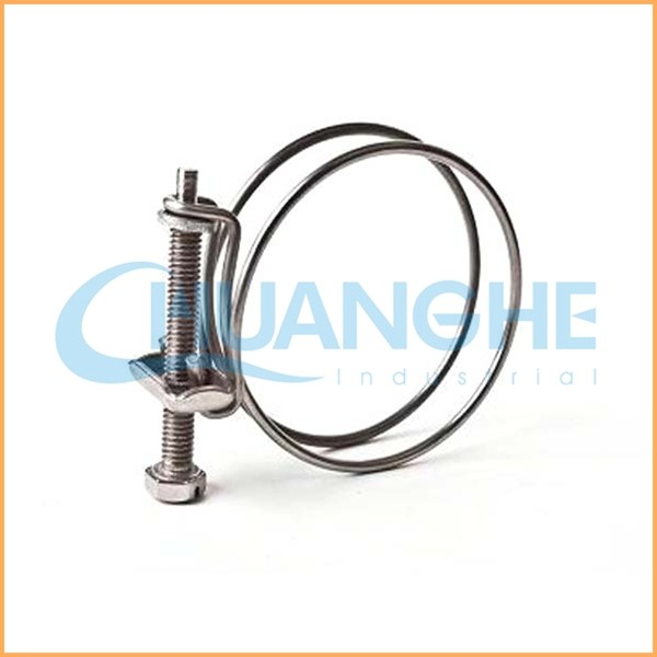 Stainless steel double wire radiator hose clamp buy