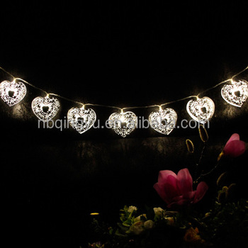 timeless design 87453 8b7bb Heart Shaped String Lights - 2 Modes,20 Led Solar String Lighting Outdoor -  Great Kits For Garden,Landscape,Xmas Tree,Patio - Buy Led Christmas Heart  ...