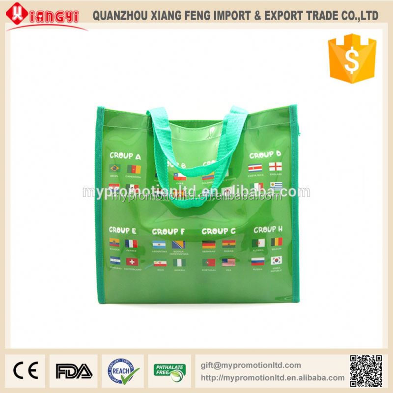 Strong quality manufacturer promotional 600 denier polyester tote bag