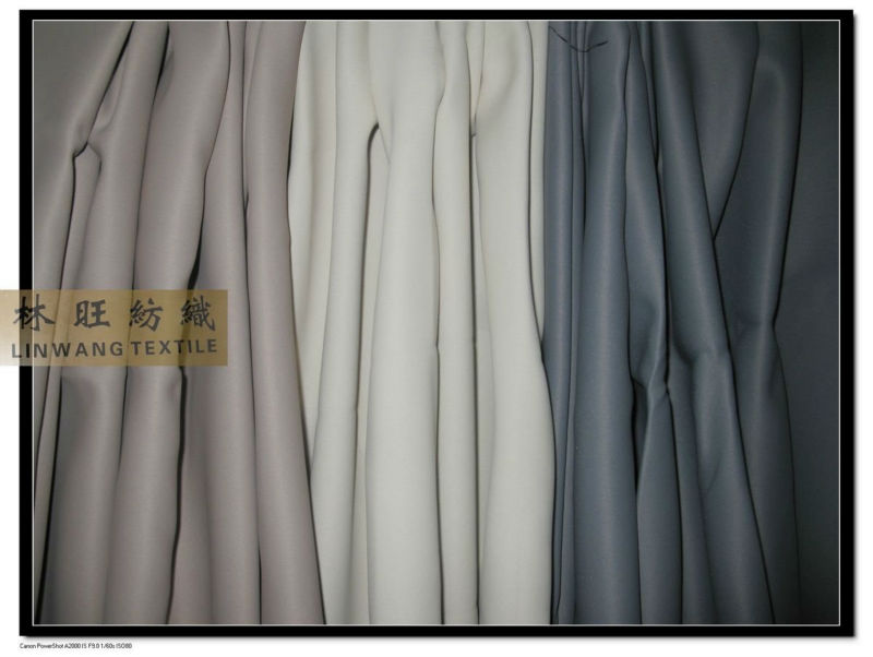 fire-retardant polyester yarn germany m1 blackout curtain fabric