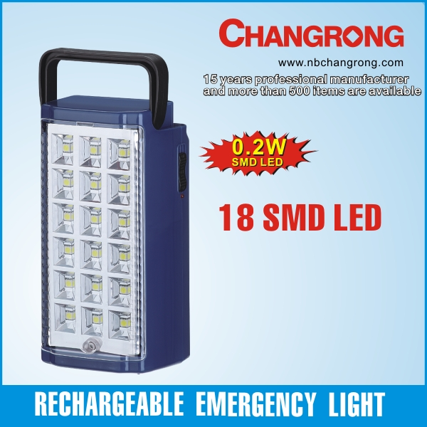 rechargeable emergence led light