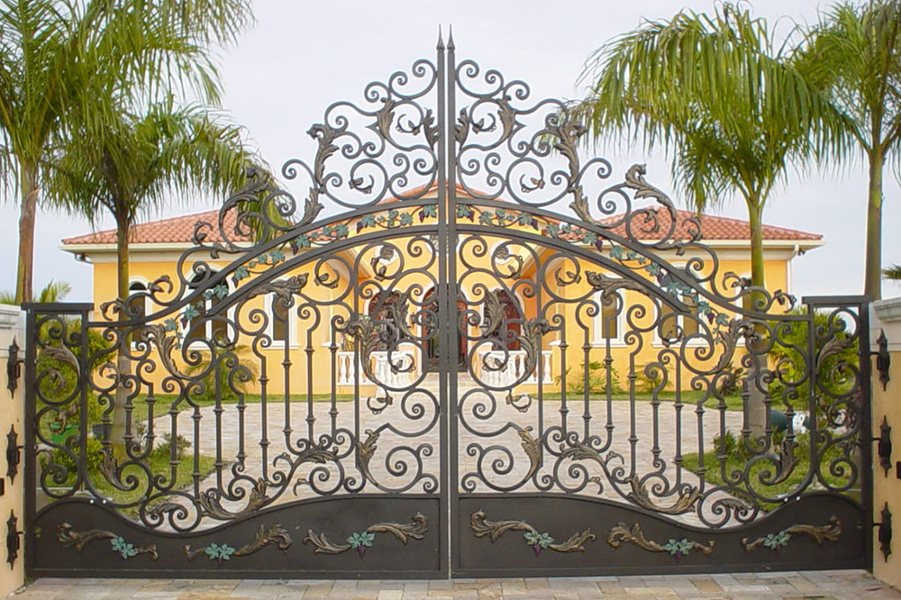House Gate Color & Main Gate Colors And Gate Color Design
