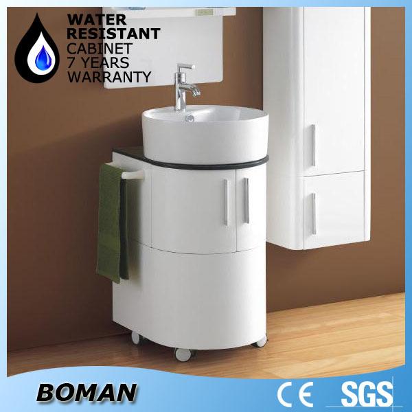 New Design Wall Mounted Bathroom Cabinet With Wash Basin,Mirror ...