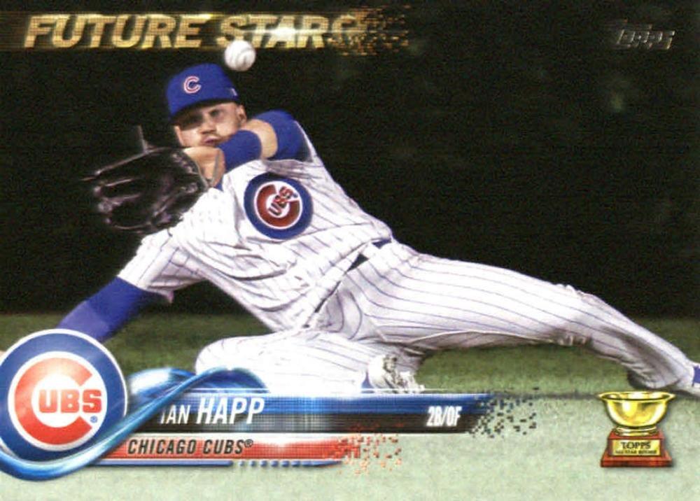 2018 Topps #118 Ian Happ Chicago Cubs Baseball Card