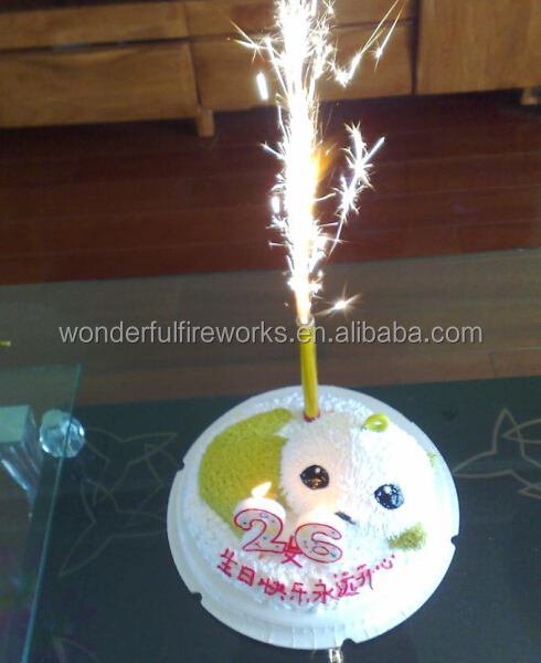 30cm Magic Birthday Candle Fireworks Sparkler Candles For Cake